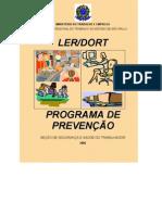 PREVENÇÃO POSTURA - MANUAL LER/DORT