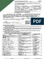 CJ Johnson petitions