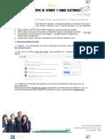 Crear Cuenta de Correo y Opciones Basicas