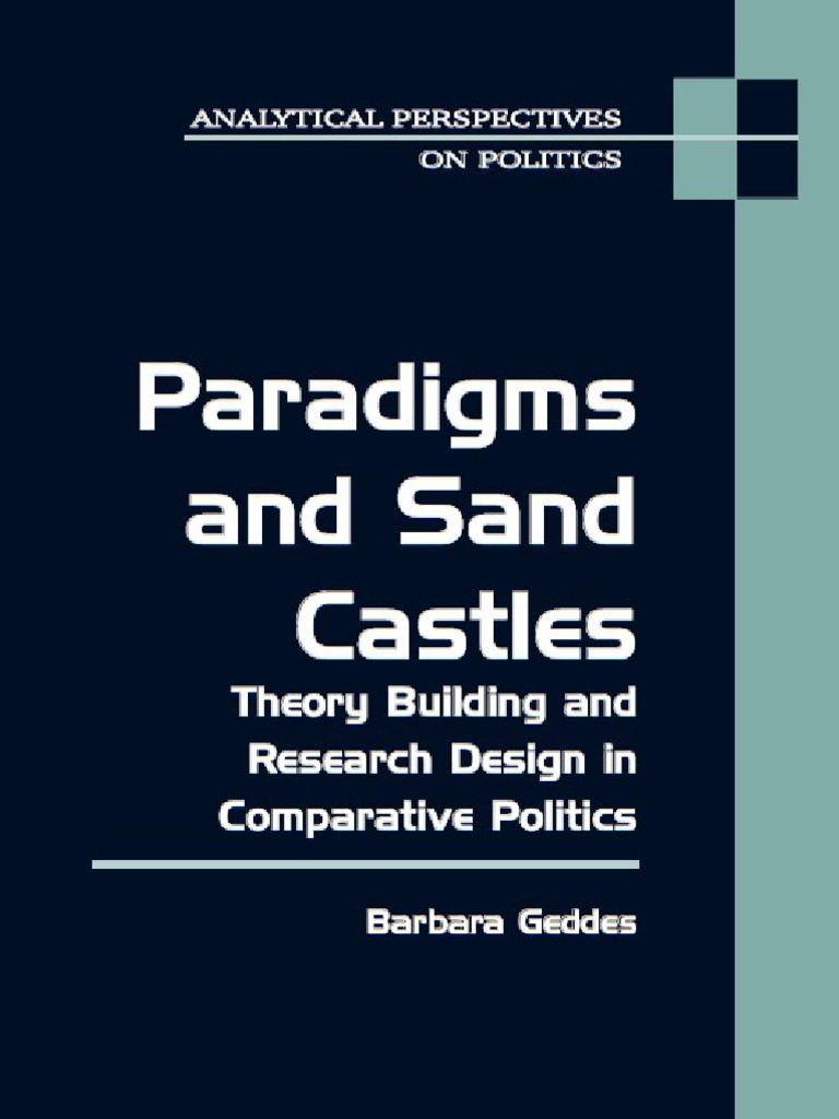 Paradigms and Sand Castles Theory Building And   Modernization ...