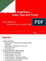Amplificadores de Alta Velocidade Dicas e Truques Nas Aplicacoes de Video
