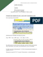 Calculo Radiacion Con Excel - InTRODUCCION de DATOS