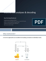 Multivariate analyses & decoding
