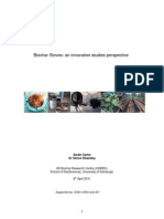 Bio Char Stoves Innovation