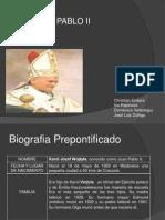 Biografia Juan Pablo II