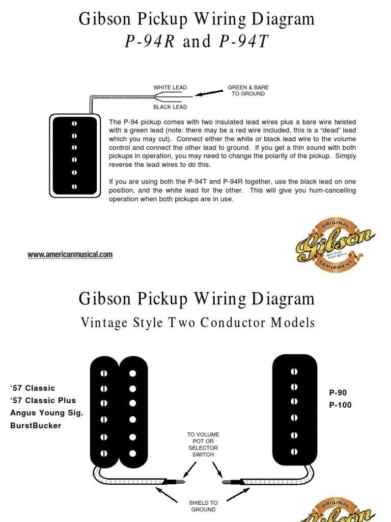 gibson p 90 wiring diagram gibceramics wiring  gibceramics wiring