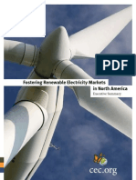 Fostering Renewable Electricity Markets in North America