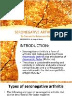 Seronegatice Arthritis