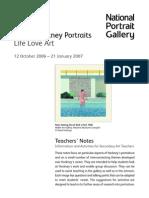 Hockney Portraits
