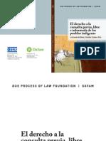 Derecho a la Consulta, la situación en Bolivia, Colombia, Ecuador y Perú