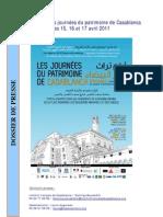 Dossier Presse JP 2011