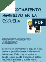 Power Point Comportamiento Agresivo (1)