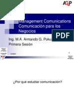 Comunicacion Para Negocios 1 Sesion 0111 Res
