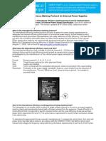 International Efficiency Marking Protocol