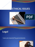 Legal & Ethical Issue