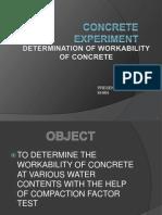 Concrete Experiment 2