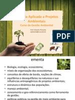 Biologia Aplicada a Projetos Ambientais- PIMENTA 3º período II
