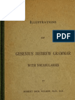 Illustrationsofgesenius Grammar