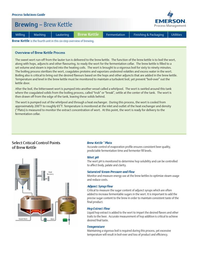 Brew Kettle CCP | Brewing | Fermented Drinks