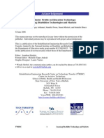 Industry Profile on Education Technology Web