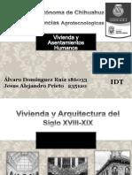 Vivienda y Arquitectura Del Siglo XVIII-XIX[1]