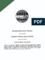GEMMA URBANI (Lucca bene comune)
