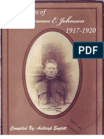 Clarence E. Johnson Letters