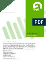 Ableton Live Intro Manual En