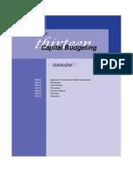 CS13.Capital Budgeting