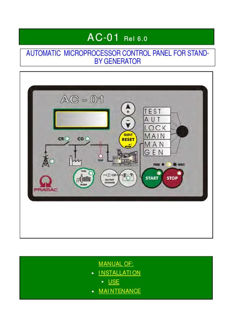 Pramac Generator Ac01