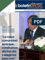 Boletin Oficial - Edicion Especial Apertura Sesiones 2012