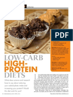 """LOW-CARB, HIGH-PROTEIN DIETS"""