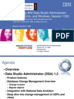 Introducing IBM DATA Studio Administrator