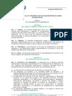 Reglamento Loei Ministerio de Educacion-borrador2