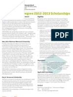 Id Scholarship Packet 2012