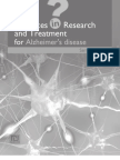 Advances in Research and Treatment for Alzheimer's disease