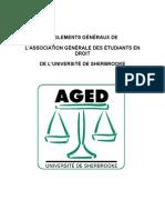 Charte de l'Aged Version Finale 2011-2012