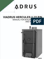 GB VIADRUS HERCULES U22 P N Navod k Obsluze a Instalaci 7 2011