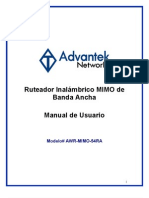 AWR-MIMO-54RA (Spanish User Manual)