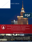 European integration and resistance to institutional change