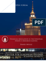 Financial regulation in the European Union