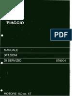 Piaggio Vespa ET4 150 Manuale d'Officina 1999 (IT)