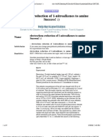 Electrochem Reduction of 1-Nitroalkenes to Amine Success! _)(1)