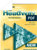 Teacher's Book NHeadway
