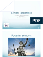 Ethical Leadership 2012
