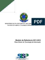 Modelo de Referencia PDTI 2011 2012