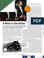A Week in Stockholm