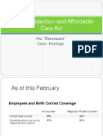 Patient Affordable Care Act