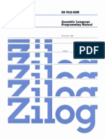 Z8 Assembly Language Programming Manual Dec80