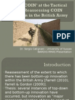 Getting COIN in Helmand- Reassessing COIN Adaptation in the British Army by Sergio Catignani